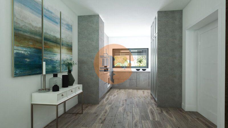 Moradia nova V3 Fuseta Olhão - vidros duplos, isolamento acústico, isolamento térmico, piso radiante, terraços, ar condicionado, vista mar, varanda, bbq, alarme, piscina, chão flutuante