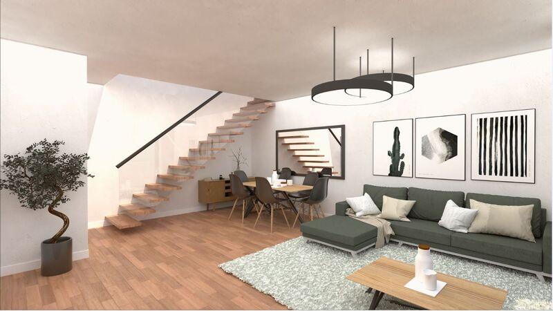 Apartamento novo com vista mar T4 Tavira - terraço, ar condicionado, varanda, vista mar, painéis solares