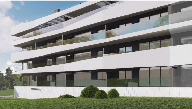 Apartamento novo T2 Tavira Santa Maria Tavira - painéis solares, varanda, piscina, ar condicionado