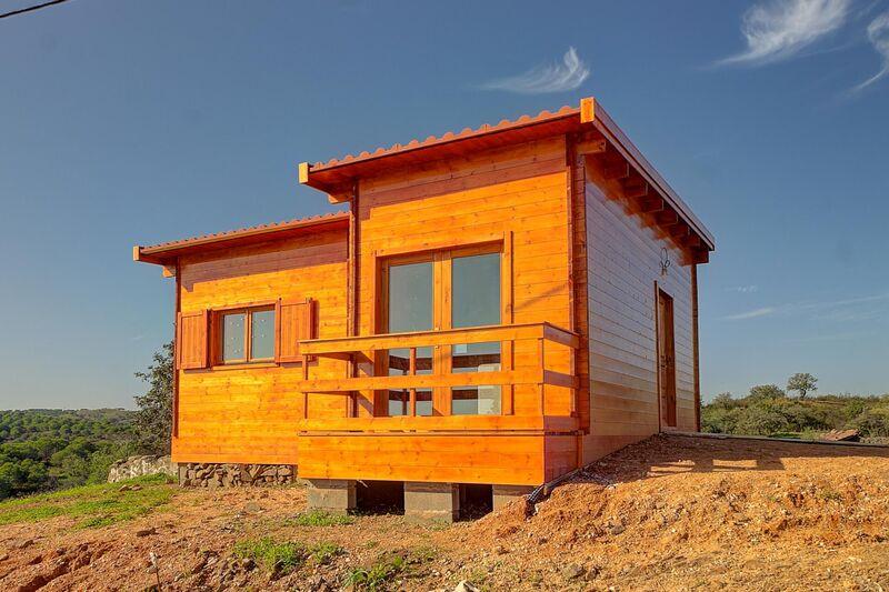 Casa nova V1 Azinhal Castro Marim - bbq, varanda, equipado, piscina, jardins