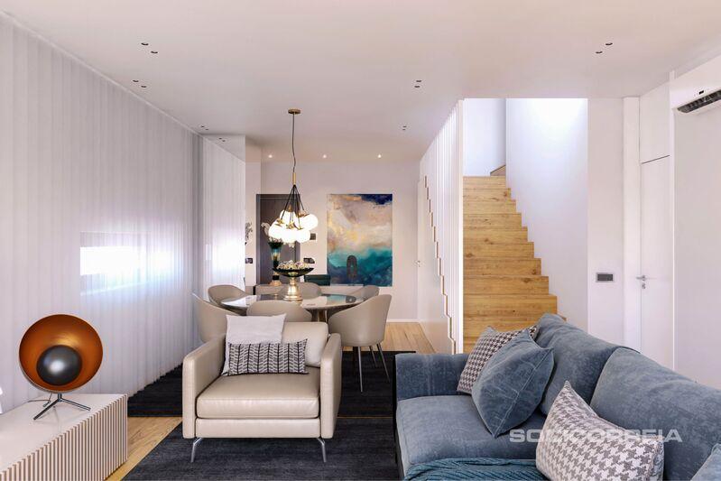 Apartamento Moderno em construção T1 Av. da República Nossa Senhora de Fátima Lisboa - terraços, ar condicionado, varandas, isolamento térmico