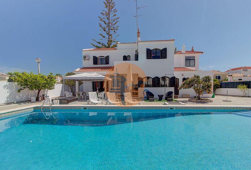 Moradia de luxo V4 Alagoa Altura Castro Marim - lareira, varanda, piscina, painéis solares, bbq