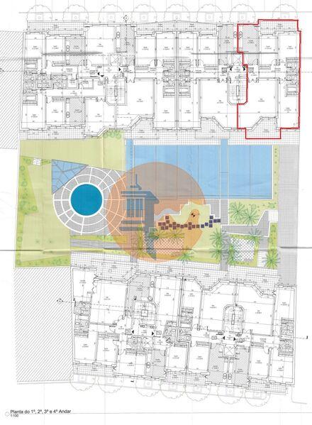Apartamento T3 Quelfes Olhão - jardim, piscina