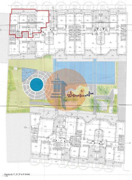 Apartamento T2 Quelfes Olhão - piscina, jardim