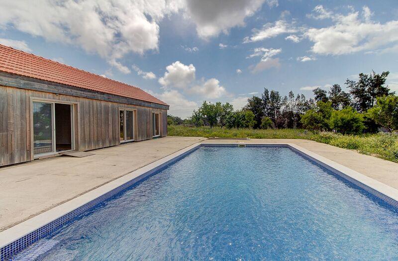 Casa V4 nova perto da praia Corte Antonio Martins Vila Nova de Cacela Vila Real de Santo António - jardim, piscina