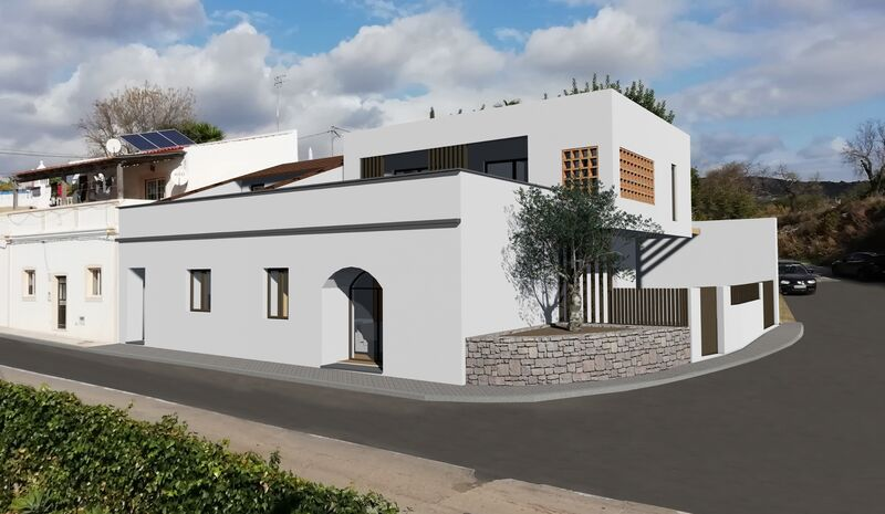 Casa nova V2 Lagos e Relvas Faro - varanda