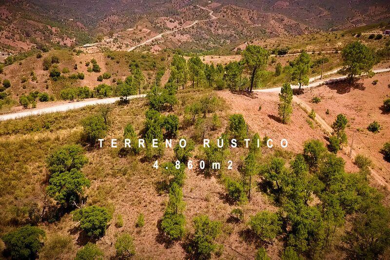 земля загородный c 4860m2 Santa Catarina da Fonte do Bispo Tavira - sobreiros, вид на горы