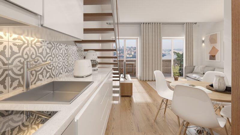 Apartamento T1+1 Renovado Vila Nova de Gaia - ar condicionado, mobilado, varanda, jardim