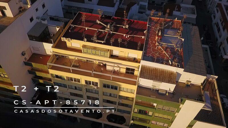 Apartment T4 Vila Real de Santo António - parking lot, air conditioning, terrace, barbecue, terraces