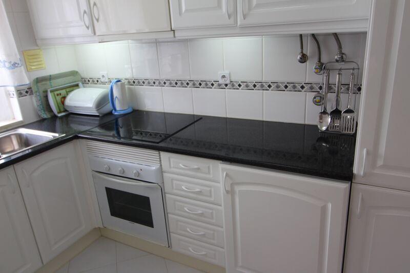 Apartment T1 Conceição Cabanas de Tavira - balcony, kitchen, 2nd floor