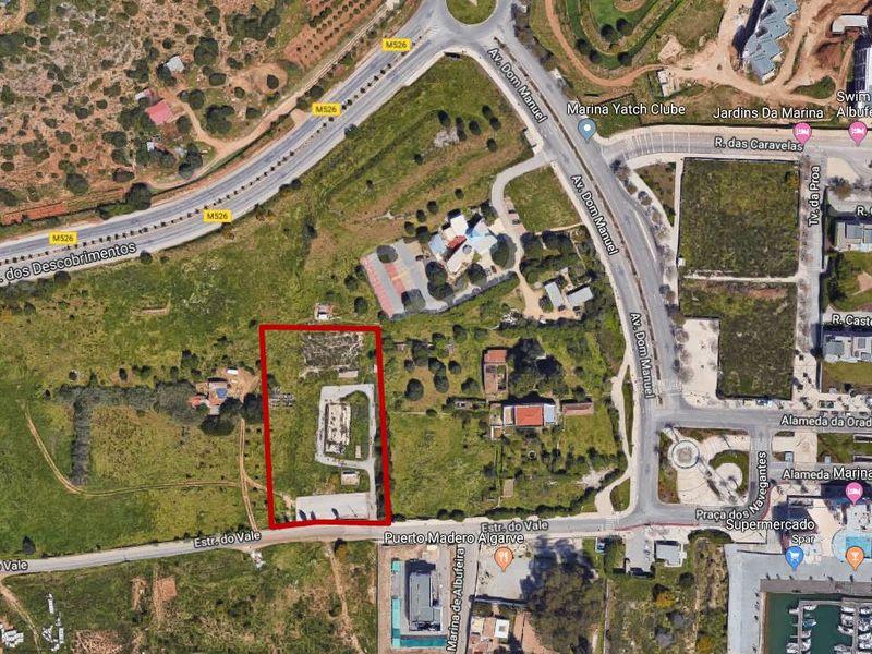 Terreno com 4134 m² à venda em Albufeira, Algarve