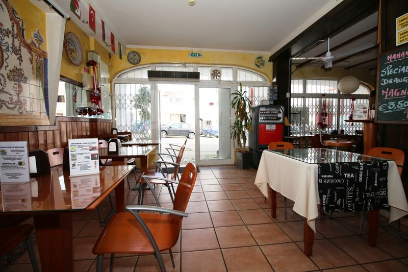 Commercial area in Albufeira