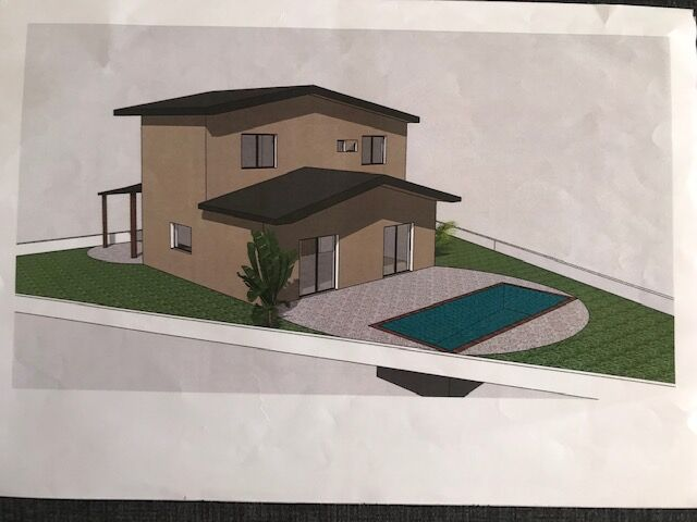 450 m²  Land plot with swimming pool in Silves