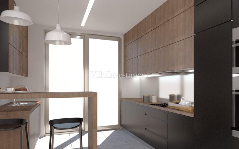 Moradia V3 de luxo em banda Branqueira Albufeira - condomínio privado, cozinha equipada, jardim, varandas, garagem, piscina