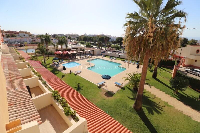 Apartamento T0 no centro Albufeira - ténis, piscina, varanda