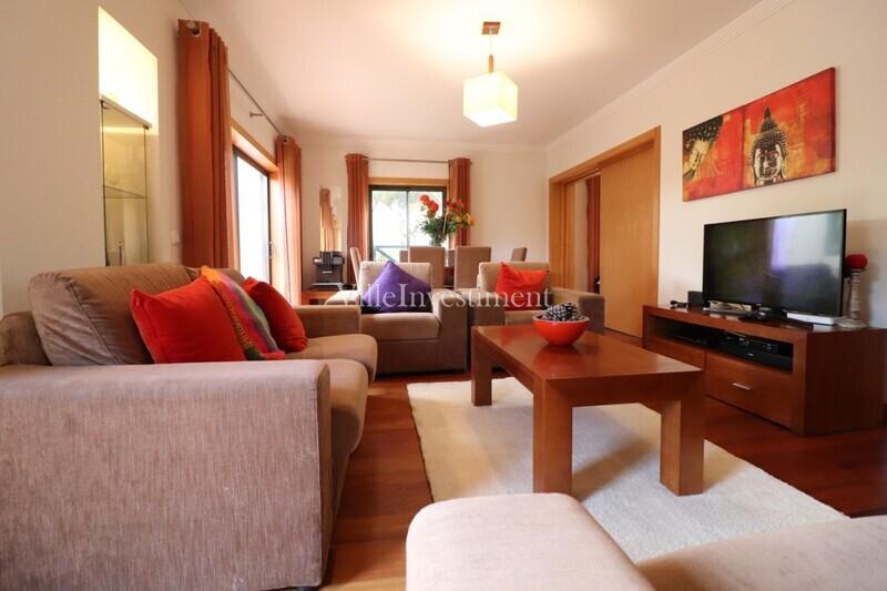 Apartamento T2+1 Corcovada Albufeira - arrecadação, piscina, mobilado, equipado, ar condicionado, garagem, jardins, condomínio privado