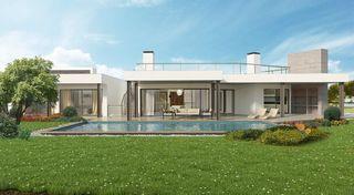 Moradia V3 de luxo Odiáxere - Vale da Lama Lagos - aquecimento solar, garagem, lareira, piso radiante, piscina, terraços