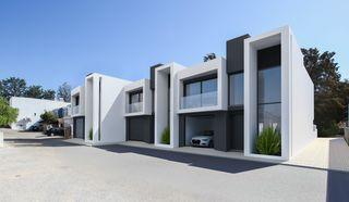 Moradia V3 Moderna em construção Alvor - Bemposta Portimão - varandas, lareira, ar condicionado, jardim, painel solar, garagem, piscina