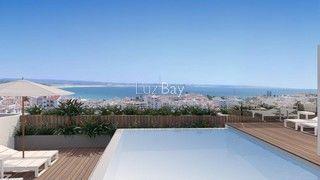 Apartamento em construção T2 Lagos São Sebastião - piscina, condomínio fechado, cozinha equipada, terraço, ar condicionado