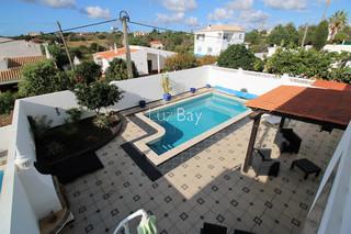 Casa V3 Almádena Luz Lagos - zona calma, piscina, lareira, terraço