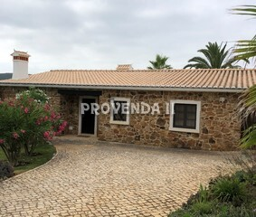 Farm V3 Azenha Aljezur - air conditioning, boiler, water, equipped, automatic irrigation system, fireplace, barbecue, boiler, alarm, fruit trees, swimming pool, central heating, cork oaks, water hole